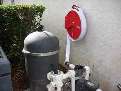 Permanent Swimming Pool Home Fire Protection System